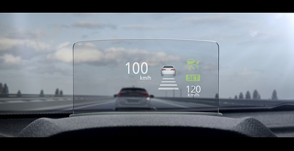 Eclipse Cross - head up display